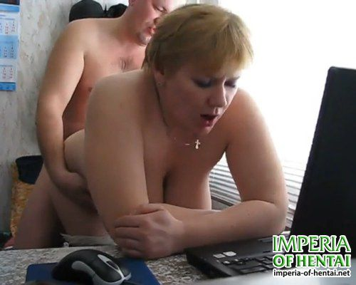 Marina hot saleswoman with big tits