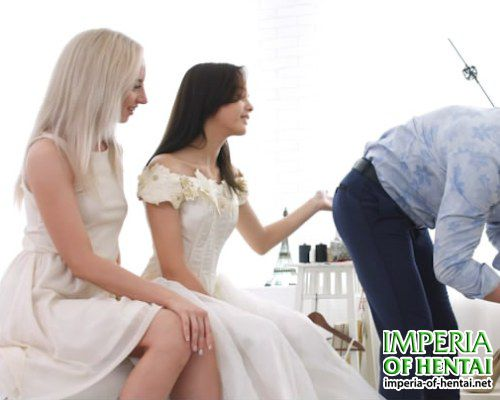 Alina and Vika fucked up before the wedding