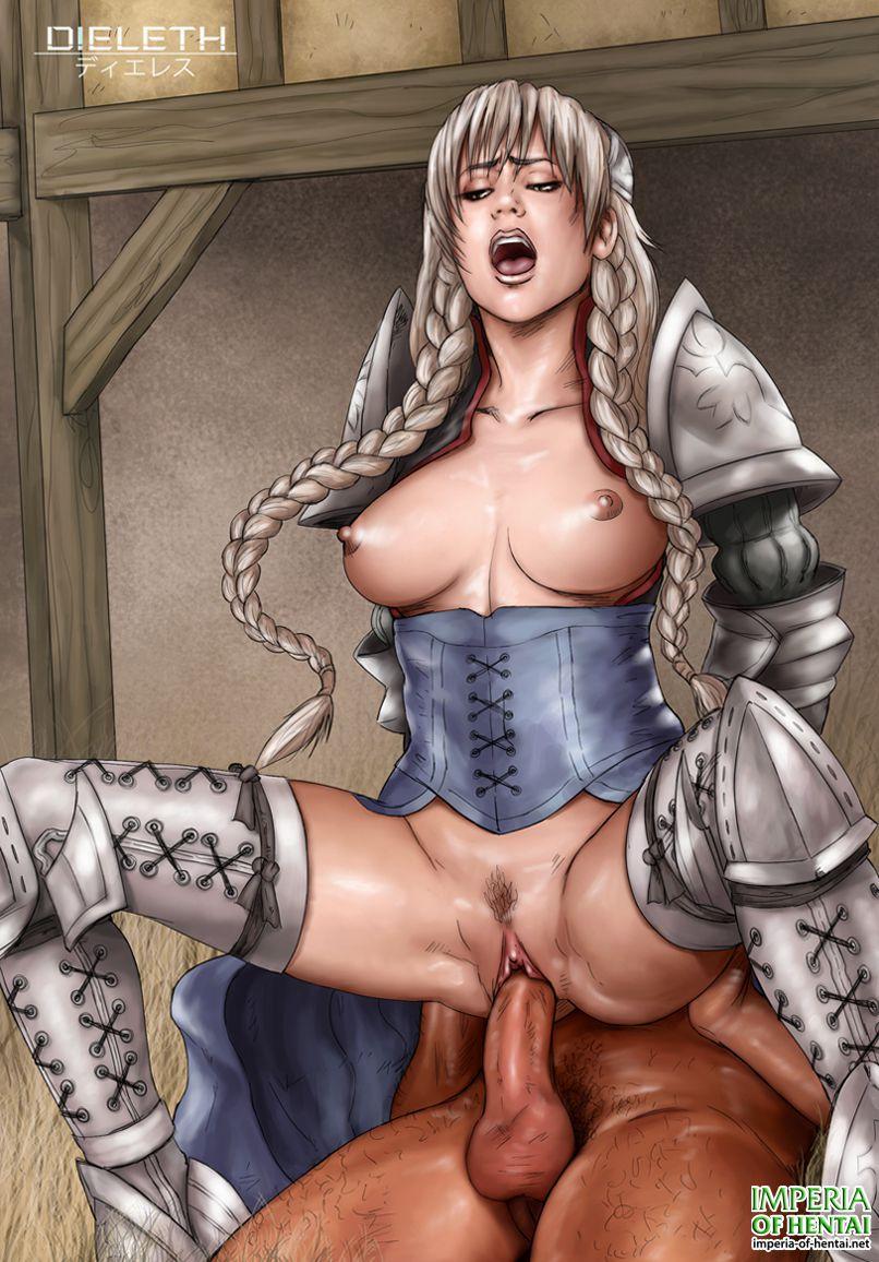 Sex knight hand