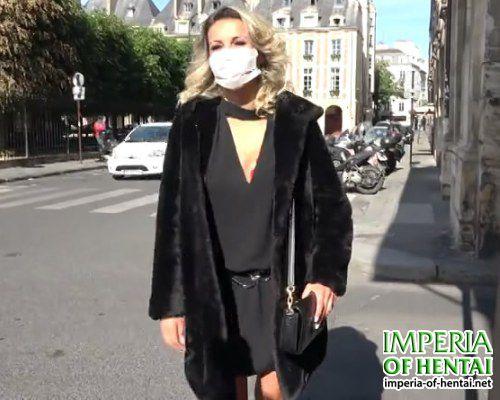 Janet cheap prostitute in a mask