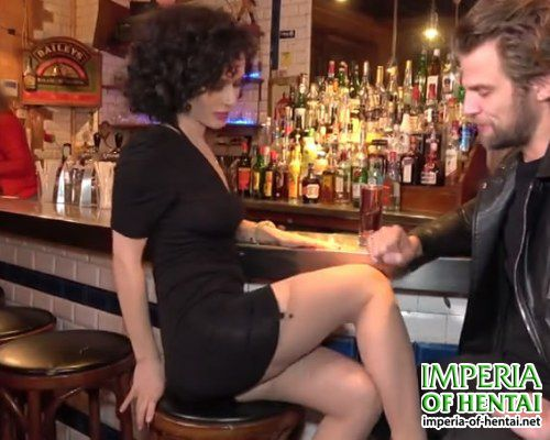 Prostitute Ella fucked in a bar